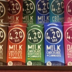The 420 Bar Chocolate Bars