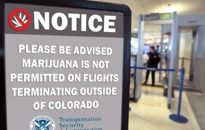 Bag of weed in your luggage? How airport security handles carry-on pot