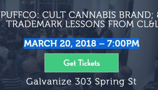GET TICKETS! CannaGatherer in NYC -  March 20, 2018 – 7:00PM