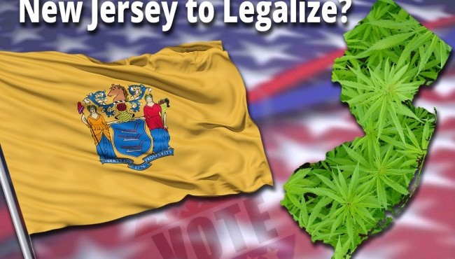 A Bill To Legalize Recreational Cannabis Has Been Introduced In New Jersey