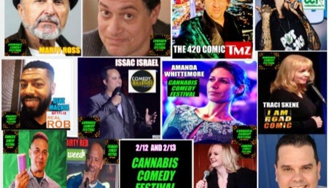 Cannabis Comedy Festival - February 12th and 13th - Las Vegas
