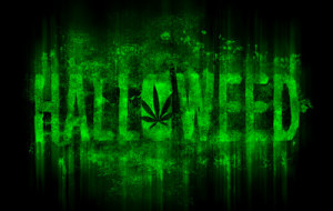 Get your HALLOWEED T-shirt designed by OPAWAPO